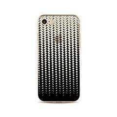 Tok iphone 7 plus 7 fedél átlátszó mintás hátlap burkolat geometriai minta puha tpu az iphone 6s plusz 6 plusz 6s 6 se 5s 5c 5 4s 4
