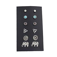 Damskie Kolczyki na sztyft Klasyczny Stop Biżuteria Na Casual