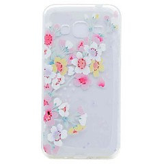 Case for Samsung Galaxy Grand Prime G530 Core Prime G360 Cover Translucent Pattern Cherry Blossom Soft TPU Case