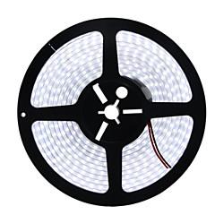 HKV® 1PCS 5M 5050SMD 600LED Waterproof IP67 Cool White Warm White LED Strip Silicone Tube Flexible LED Ligh DC 12V