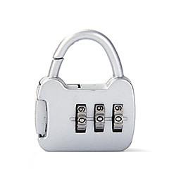 0000 cink ötvözet lakat lakat 3 számjegyű jelszó lopásgátló mini poggyász táska poggyász írószerek zár vámzár dán zár jelszó zár