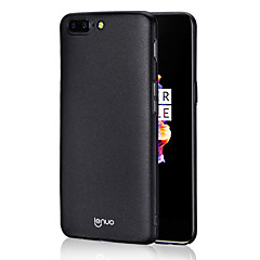 Lenuo Case for One Plus 5 Cover Ultra-thin Frosted Back Cover Case Solid Color Hard PC Thickness 1.2mm
