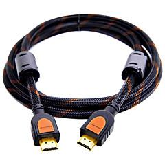 HDMI 2.0 Kaapeli, HDMI 2.0 to HDMI 2.0 Kaapeli Uros - Uros Kullattu kupari 0.5M (1.5Ft)