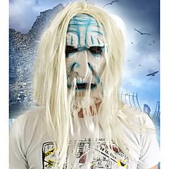 Cadılar bayramı tam yüz korku pislik maske maskeli kostüm parti hareketli tema elbise maske yüz kaputu gördü