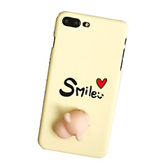 For Case Cover Pattern DIY Squishy Back Cover Case Word / Phrase Hard PC for Apple iPhone 7 Plus iPhone 7 iPhone 6 Plus iPhone 6s iPhone 6