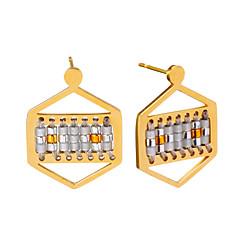 Dames Druppel oorbellen Sieraden Uniek ontwerp Hypoallergeen Met de hand gemaakt Bohemia Style Euramerican Movie Jewelry Roestvrijstaal