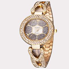 ASJ Női Divatos óra Karóra Japán Kvarc Vízálló Rozsdamentes acél Zenekar Régies (Vintage) Fólia Ezüst Arany Vörös arany