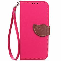 Taske til Nokia Lumia 650 630 Taske Holder Tegnebog med stativ Flip hele kroppen Taske Solid Farve PU Læder til Lumia 730 520 530 535 625