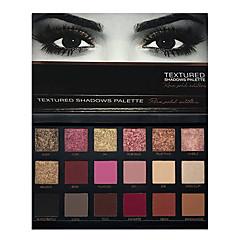 18 colors eye shadow Παλέτες σκιών Ξηρό Παλέτα σκιάς ματιών Πούδρα Σετ Machiaj Zilnic