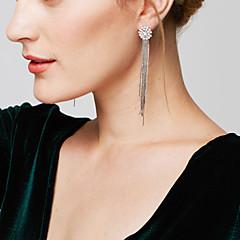 Γυναικεία Κρεμαστά Σκουλαρίκια Σκουλαρίκι Κοσμήματα με στυλ κοσμήματα πολυτελείας Κομψή Μακρύ Μήκος Γαλαξίας ΜοντέρναΧαλκός Προσομειωμένο