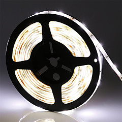 5M Waterproof SMD5050 LED Flexible Strip Light 300 LEDs IP65 LED Rope Light Strips for Home White/Warm White/BLue/Yellow/Red/Green/Cool Wtite(DC12V)