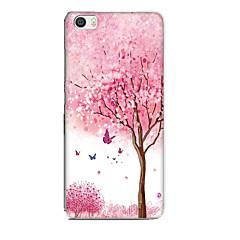 Για xiaomi mi 5 περίπτωση κάλυψη μοτίβο πίσω κάλυψη περίπτωση λουλούδι ζώων μαλακό tpu