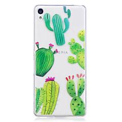 Kotelo sony xperia m2 xa kotelokotelo kaktus kuvio maalattu korkea tunkeuma tpu materiaali imd prosessi pehmeä kotelo puhelimen kotelo