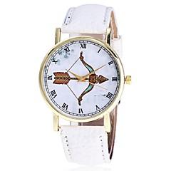 Heren Dames Modieus horloge Polshorloge Unieke creatieve horloge Vrijetijdshorloge Chinees Kwarts PU Band Vrijetijdsschoenen Elegante