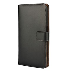 Case voor Nokia 5 Nokia 3 Solid Color Leather Full Body Cover met Kaart en Stand Case Nokia Lumia 630 Lumia 820