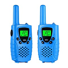 Walkie talkies voor kinderen 22-kanaals micro usb opladen 2-way radio 3 mijl (tot 5 mijl) frs / gmrs handheld mini walkie talkies voor