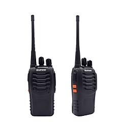 2pcs φορητό ραδιόφωνο baofeng bf-888s 16ch uhf 400-470mhz baofeng 888s ζαμπόν ραδιόφωνο hf πομποδέκτης amador φορητός