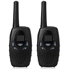 1 watin pituusalue musta 2kpl radiopuhelintaulu FM-radiopuhelin FRS gmrs 2-tie CB-radiot uhf ptt vox lähetin pmr lapsille