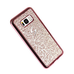 Hoesje voor Samsung Galaxy S8 plus s8 plating patroon achterkant geometrisch patroon Soft TPU s7 rand s7 s6 rand s6 s5 mini s5 s4 mini