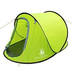 GAZELLE OUTDOORS 2 személy Sátor Egyszemélyes kemping sátor Felbukkan a sátor Vízálló Szélbiztos Ultraibolya biztos Összecsukható