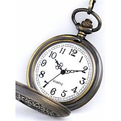 Ανδρικά Ρολόι Τσέπης Χαλαζίας Εσωτερικού Μηχανισμού κράμα Μπάντα Πεπαλαιωμένο Μπρονζέ