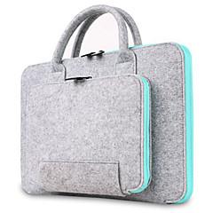 Gyapjú feltűrt számítógép táska laptop táska takaró liner táska