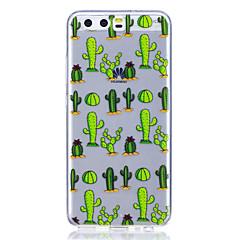 Tok huawei p8 lite (2017) p10 tok burkolat kaktusz minta nagy átlátszó tpu anyag karcmentes telefon tok huawei p10 lite p10 plusz