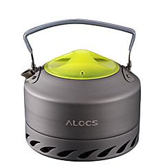 ALOCS Kemping vízforraló Kemping kávéfőző Kávé és tea Hordozható Ásvány Alumínium mert Piknic Kempingezés és túrázás Szabadtéri