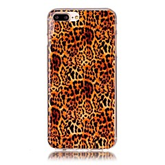 til case cover mønster bagside cover leopard print soft tpu til Apple iPhone x iPhone 8 plus iPhone 8 iPhone 7 plus iPhone 7 iPhone 6s