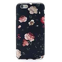 Για iPhone X iPhone 8 iPhone 7 iPhone 7 Plus Θήκες Καλύμματα Εξαιρετικά λεπτή Με σχέδια Πίσω Κάλυμμα tok Λουλούδι Μαλακή TPU για Apple