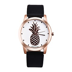 Dames Modieus horloge Unieke creatieve horloge Vrijetijdshorloge Chinees Kwarts Chronograaf Waterbestendig Leer Echt leer Band Bedeltjes
