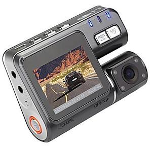 I1000 720p DVR αυτοκινήτου 90 μοίÏες Î•Ï…Ïεία γωνεία 1.8 inch LCD Dash Cam με ÎυχτεÏινή ÎŒÏαση / ΚαταγÏαφή βÏόγχου ΕγγÏαφή αυτοκινήτου