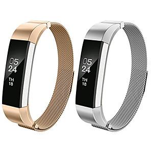 ΠαÏακολουθήστε Band για Fitbit Alta HR / Fitbit Alta Fitbit Μιλανέζικη Πλέξη Ανοξείδωτο Ατσάλι ΛουÏάκι ΚαÏποÏ