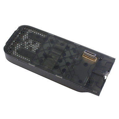 HDD Hard Disk Drive Case with LED Circuit Board for Xbox 360 (Translucent Black)