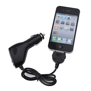 Full Range FM Transmitter + LCD Display for iPhone/iPad/iPod