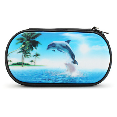 Protective 3D Dolphin Case for PS Vita (Blue)