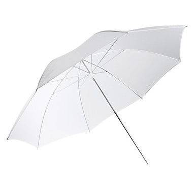 "40"" White Photo Studio Diffuser Umbrella"
