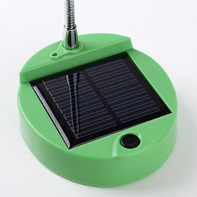8-LED Solar Lamp (Green)