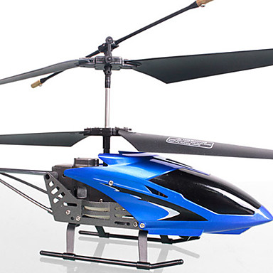 3.5-Channel Flexible RC Helicopter with Built-in Gyroscope (Blue)