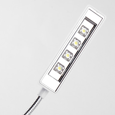 4-LED de la lámpara solar (blanca)