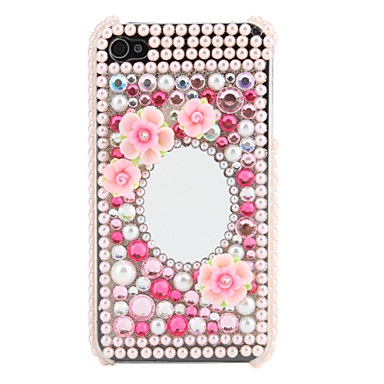 Cas strass motif miroir pour iphone 4 et 4s de 344468 2017 for Application miroir iphone