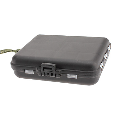 Black Portable Plastic Tool Box