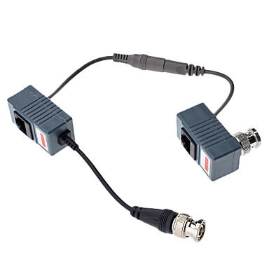 Balun vid o audio d 39 alimentation en courant continu et for Alimentation maison commande