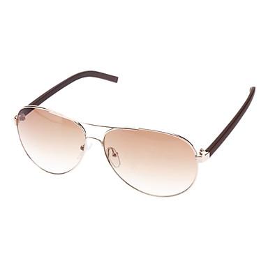 Gold Frame Aviator Sunglasses : Unisex Brown Lens Gold Frame Aviator Sunglasses 658664 ...