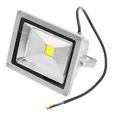 JIAWEN 20W 1 1400 LM Natural White LED Flood Lights AC 220-240 V