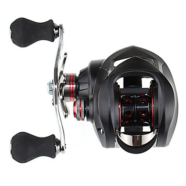 Sharp Cat 10+1 BB Black Bait Casting Reel Left Hand
