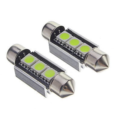 5050 smd 2w 30 50lm 3 led autolampen wit 12v 1271796 for Led autolampen