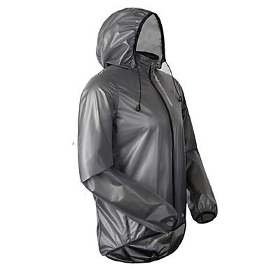 Cycling Jacket Men's Long Sleeve Bike Waterproof / Breathable / Ultraviolet Resistant / Rain-Proof Jacket / Raincoat/Poncho / Tops PU