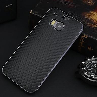 Protective Carbon Kunststoff zurück Fall für HTC One 2 M8 (verschiedene Farben)