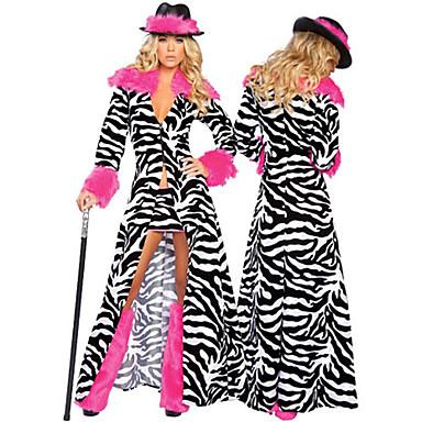 Disfraz de halloween patr n g ngster cebra atractiva de for Disfraz de cebra